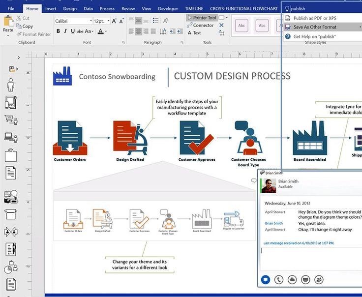 1000+ ide tentang Microsoft Visio di Pinterest Microsoft dan - flow chart word