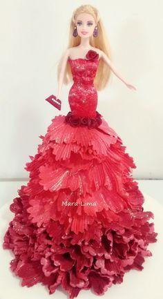Artesanato e variedades  : Passo a passo Boneca com vestido de EVA