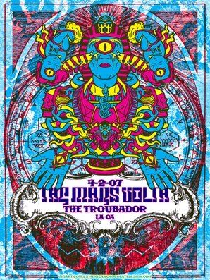 The Mars Volta #Live #Bandposter #Gigposter