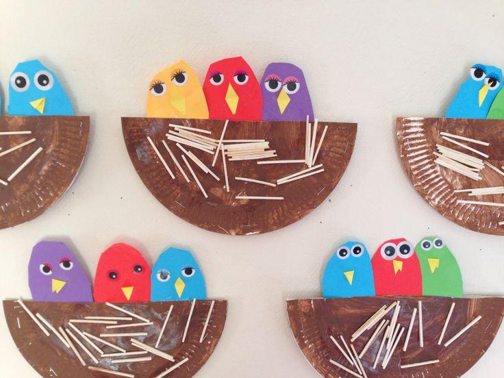 Spring Easter Craft Paper Plate Crafts For Kids
