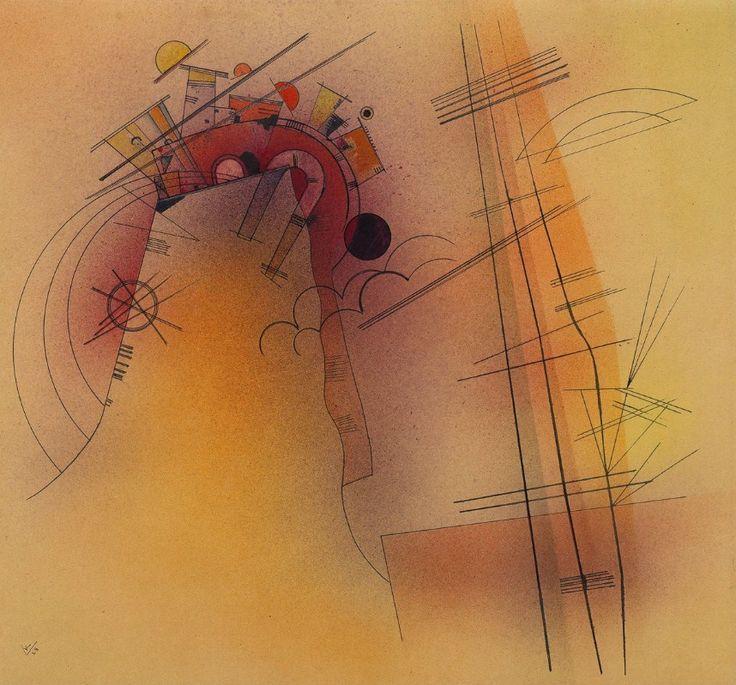 Wassily Kandinsky - Aglow, 1928