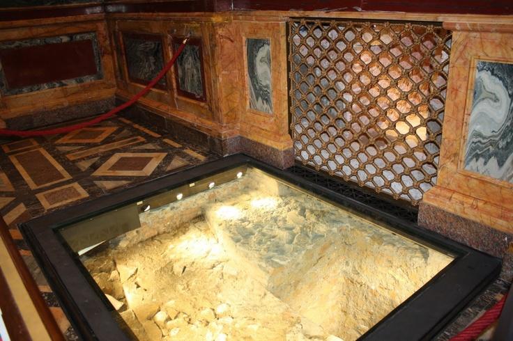 Tomb of St. Paul located at Basilica of Saint Paul ...