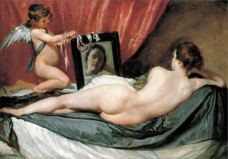 Image result for The Toilet of Venus ('The Rokeby Venus') Diego Velázquez, 1599 - 1660 1647-51