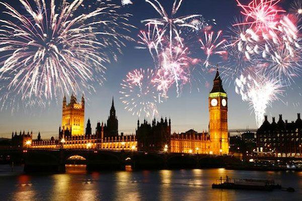 London New Year Fireworks 2014  #newyear_fireworks #London_fireworks #London