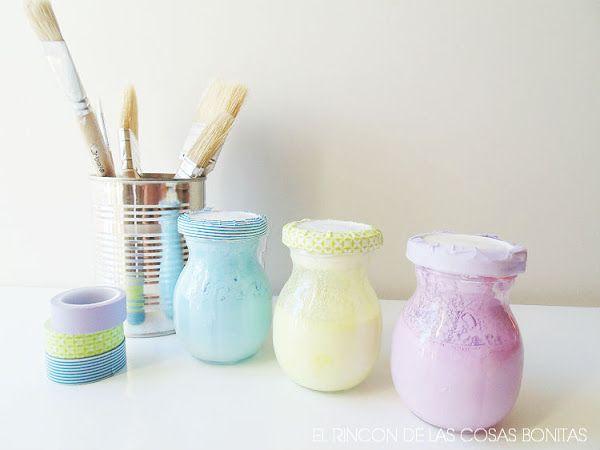 Cómo hacer chalk paint o pintura de pizarra casera