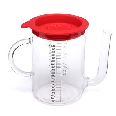 Fox Run Craftsmen Gravy Fat Separator 1-Cup Glass Measuring Cup