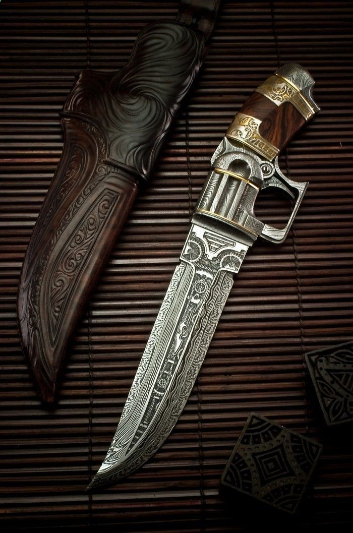 Steampunk Knife Pistol