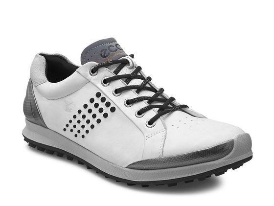 Ecco Men's BIOM Hybrid 2 Golf Shoe - White/Black