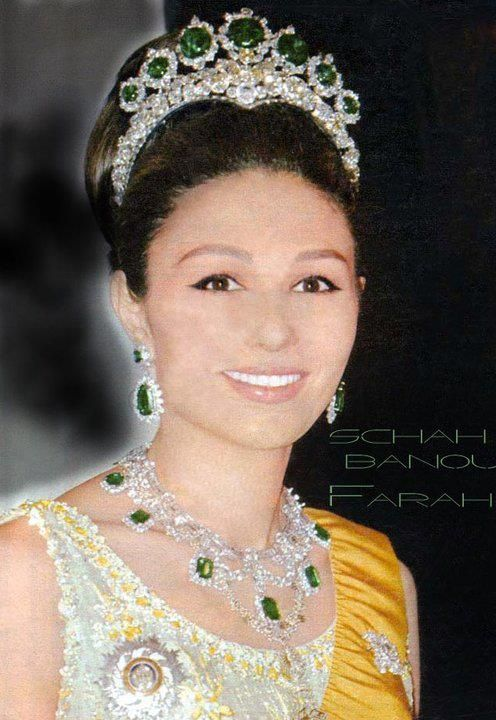 Queen Farah Diba - Farah Pahlavi (born Farah Diba) (14 October 1938-living2014) is the widow of Mohammad Reza Pahlavi & as such the former Queen of Iran.