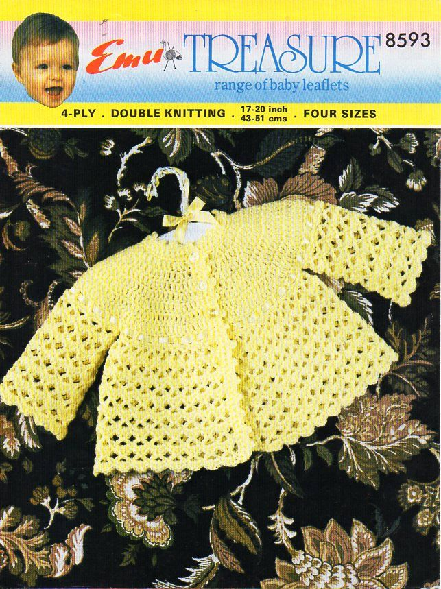 134 best Vintage Baby & children Crochet Patterns images on Pinterest