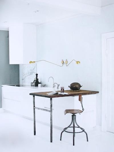 minimalist work space