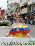 Hispano America Desfile Fiesta de la Fruta y de las Flores Ambato 2012