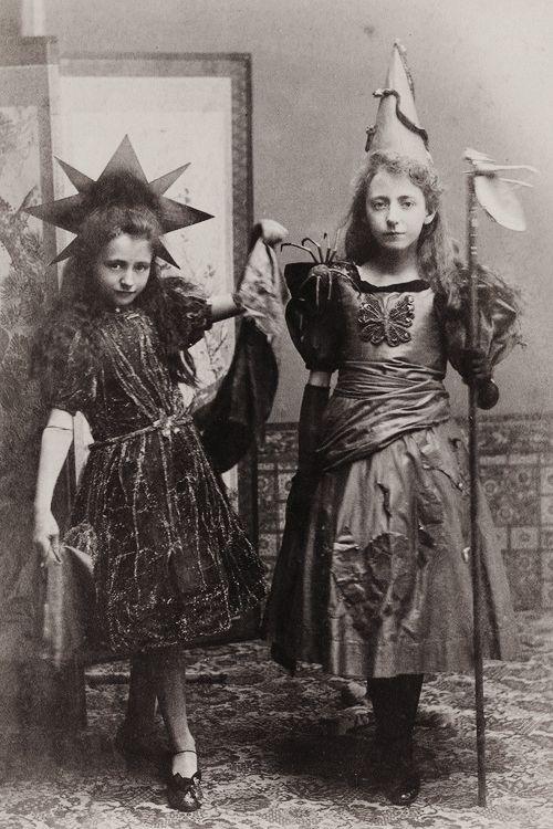 Halloween fancy dress costumes c. 1890s