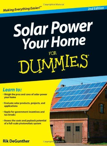 Solar energy book on Amazon