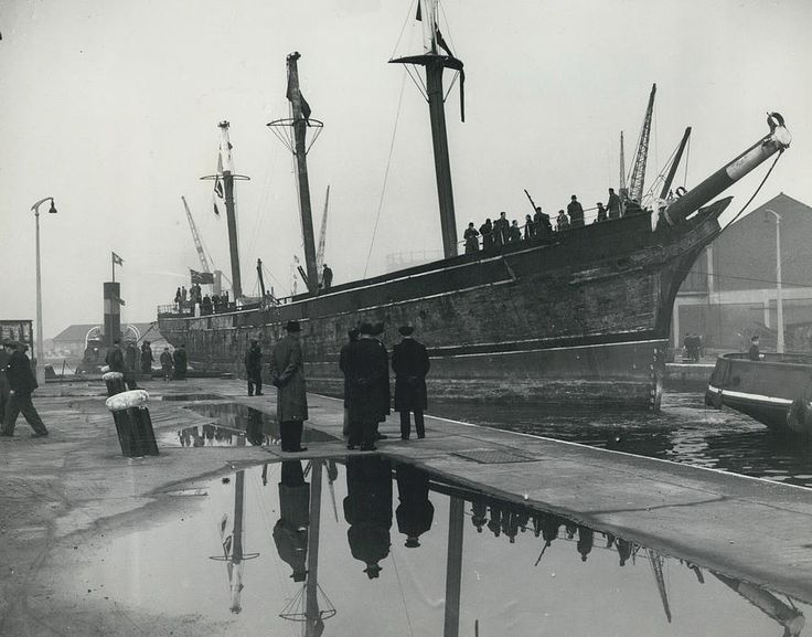 Cutty Sarks last Voyage from East India dock