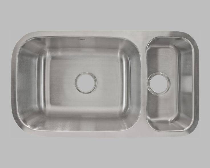 undermount double bowl sink 32 x 17 x this sink has undermount is made with 304 stainless steel and has 18 gauge clips are