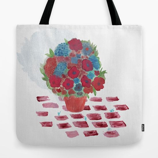 Flowerpot Tote Bag
