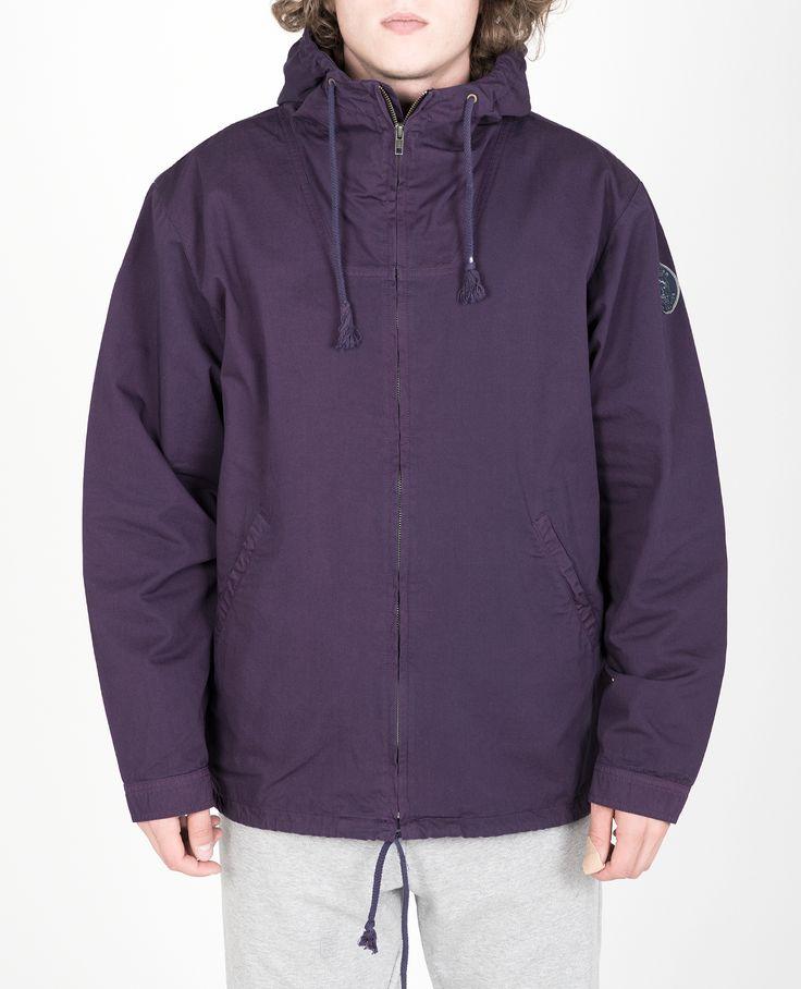 R-Collection Zipper anorak 100% cotton