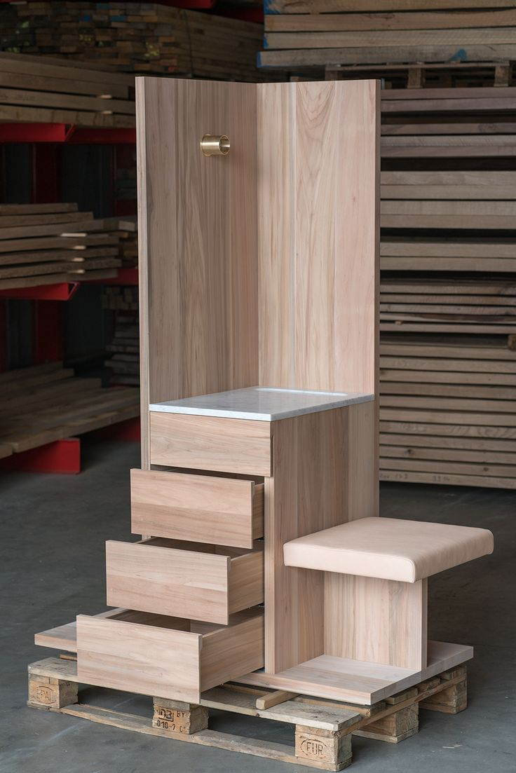 The Butler by David Chipperfield, AHEC and E15 for Wallpaper* Handmade in American willow.