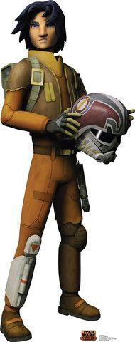 Star Wars Rebels Ezra Bridger Standup - 5' Tall