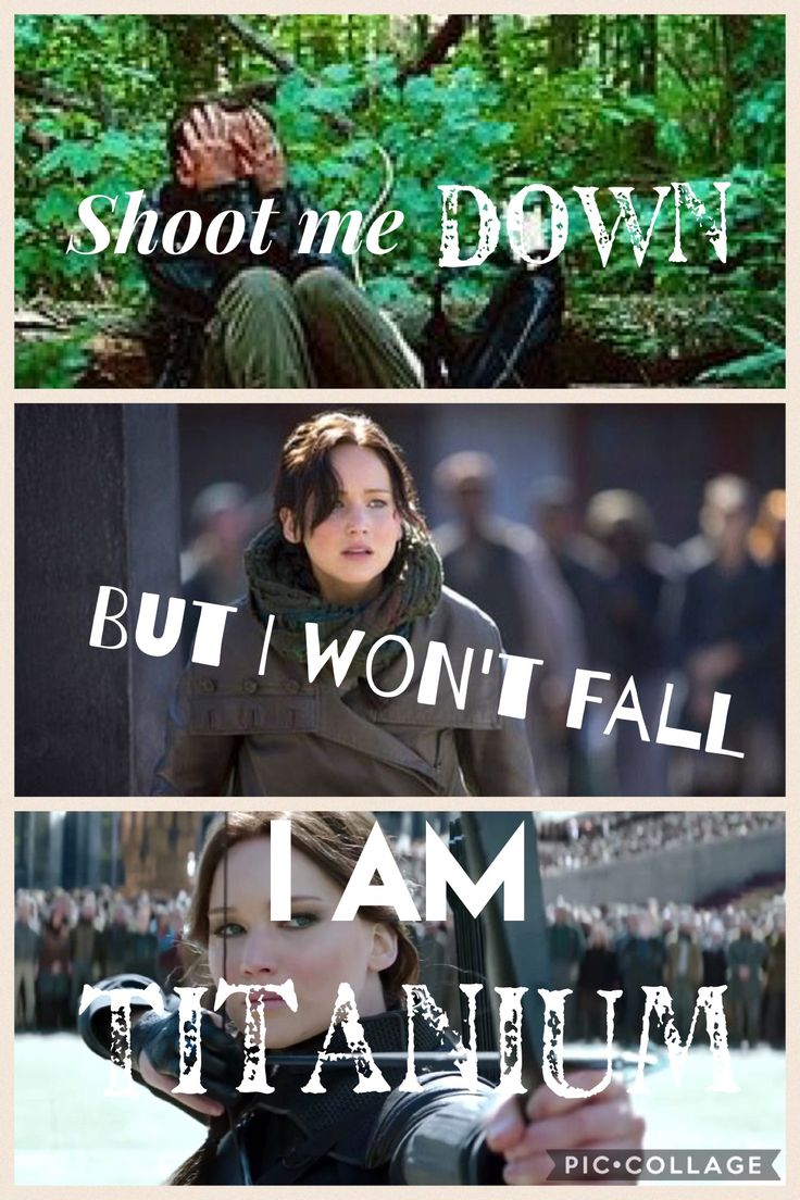 Katniss is just one of those strong people that always gets up when she falls down❤️