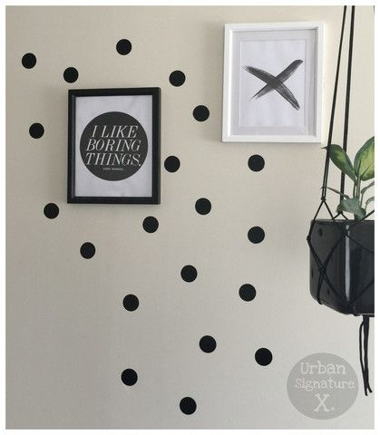 Urban Wall Tattoos - Black Spots