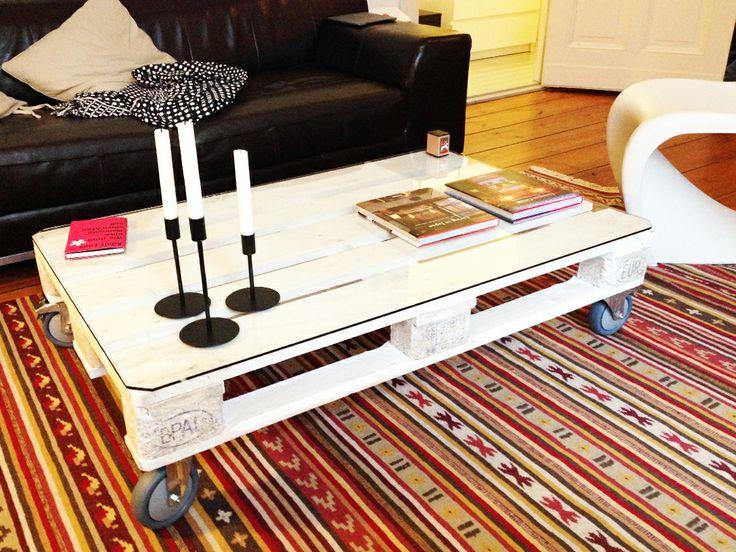 die besten 25 europalette tisch glasplatte ideen auf pinterest kaffeetisch dekoration diy. Black Bedroom Furniture Sets. Home Design Ideas