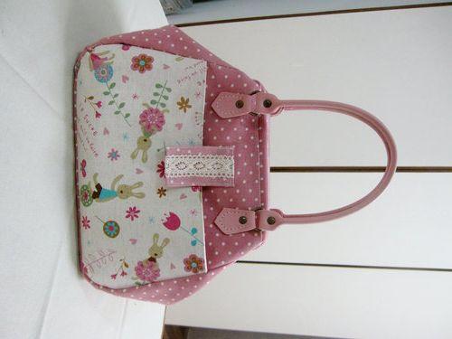 §五月手作§-醫生口金包(作法上) - 芬拼布天地 -Creating Pattern for Doctor Frame Bag