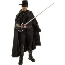 Zorro Deluxe Herrenkostüm - M-L