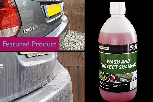 Valet PRO Wash and Protect Shampoo Review