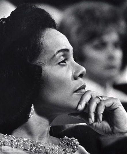 Icon of strength, Coretta Scott King