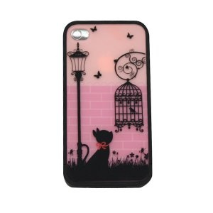 Crose Artistic Quality Dull Polish Protective Case for iPhone 4/4S