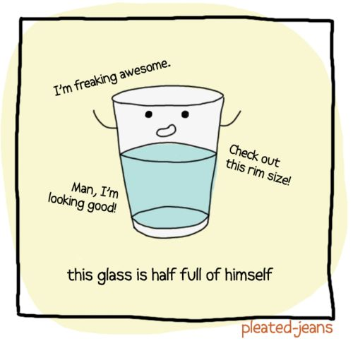: Freak Awesome, Glasses Half, Giggles, Funny Stuff, Accessories, Smile, Half Full, H2Overwhelm Arrogant, Funny Puns