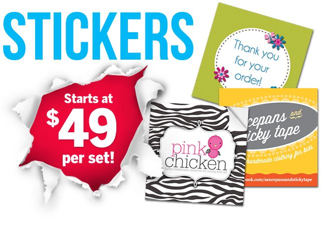 Spread your marketing magic indoors and outdoors!  Our custom-crafted collections of Glossy Paper Stickers, All-Terrain Vinyl Stickers, Domed PVC Stickers and Car Bumper Stickers have quite literally got all bases covered with marketing power that really sticks around.