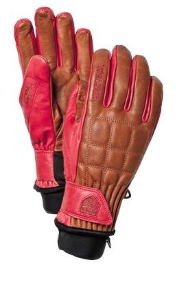 Hestra Henrik Leather Pro Model (Brown / Red)