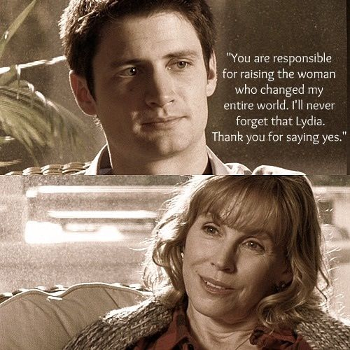 I like how they showed Lydia and Nathan getting some peace as well...and thanking each other for Haley :)