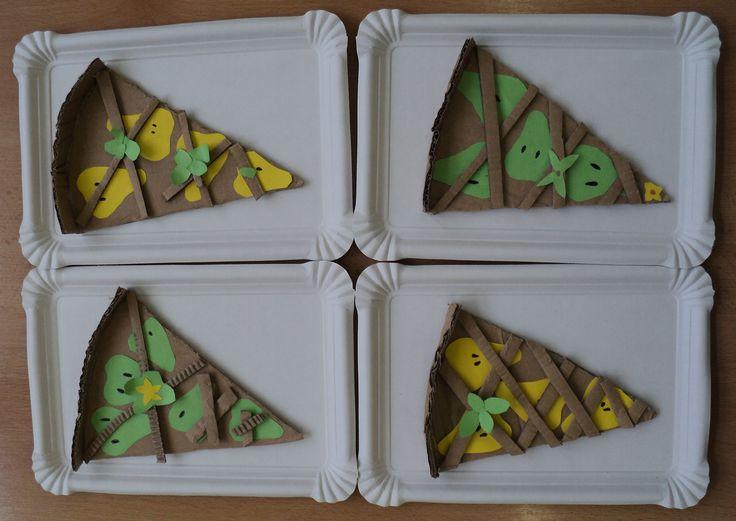 Hruškový koláč - porce