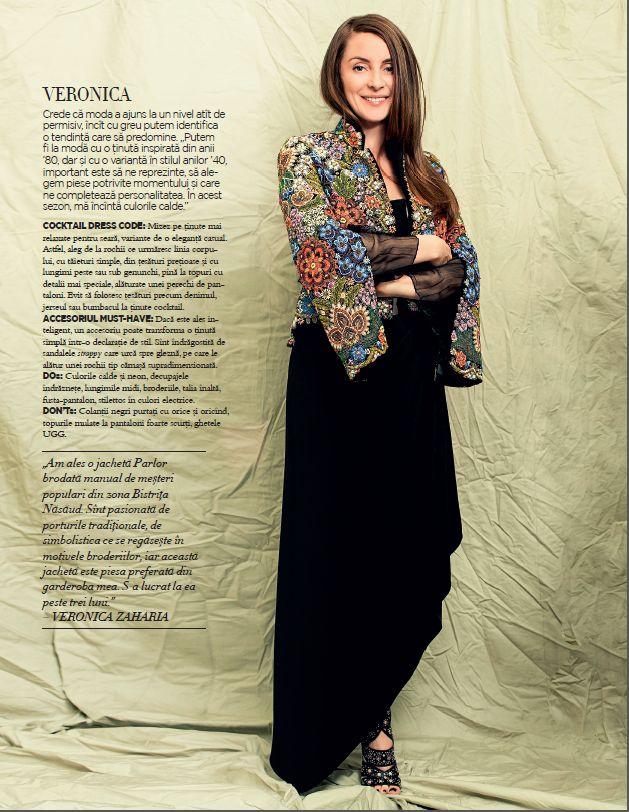 Parlor designer, Veronica Zaharia, in Harpers Bazaar! #parlor #parlorstudio #designer #bazaar
