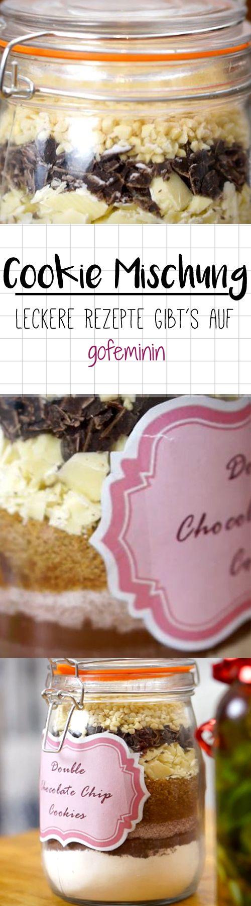 DIY-Geschenk zum Nachmachen: Leckere Cookie-Backmischung