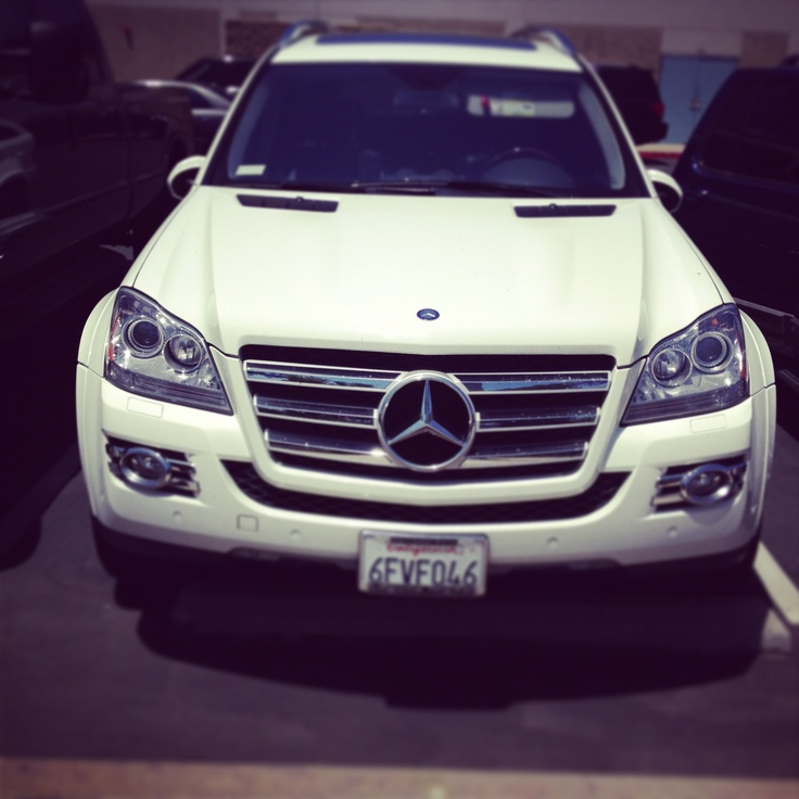 Mercedes G series, great SUV if your taking a beach day or going to a business meeting.