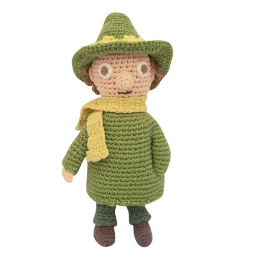 Snufkin crochet toy