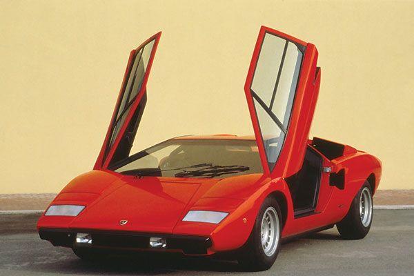 La Historia del Lamborghini Countach (en fotos)