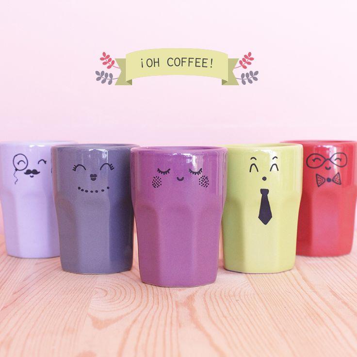 DIY des mugs personnalisés, customisation de vaisselle aux posca, feutres à la peinture...