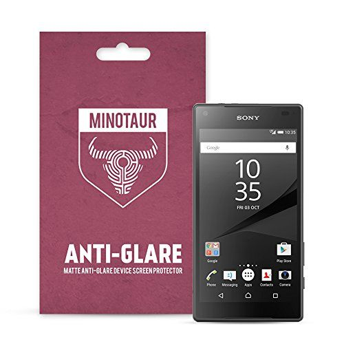 From 1.97 Sony Xperia Z5 Compact Screen Protector Pack Matte Anti Glare By Minotaur (6 Screen Protectors)