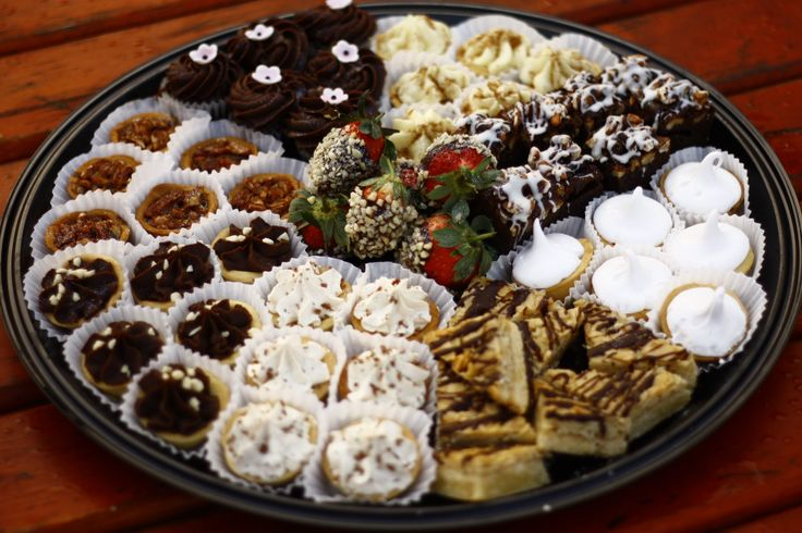 desert platter 180 degrees catering and confectionery www.180degrees.co.za