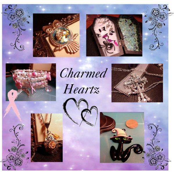 Charmed Heartz on Etsy