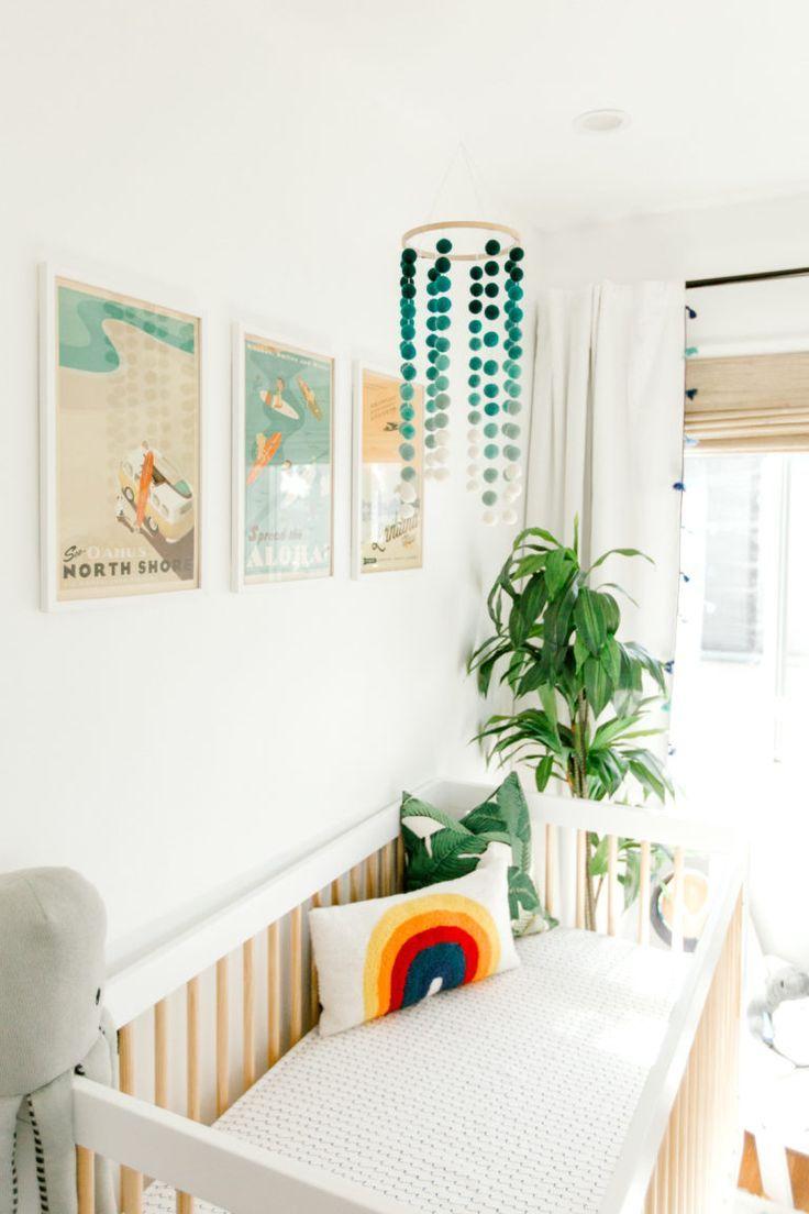 Hawaii Inspired Nursery Ocean Baby Boy Rooms