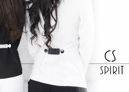 Clipshirt KATE où comment accessoiriser une veste de tailleur avec élégance #accessoire #mode #femme #fashion #pince #vêtement