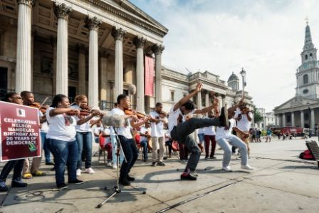 Free Soweto concert to showcase Buskaid talent  Back from a successful UK tour, The Buskaid Soweto String Ensemble will perform a free concert at home in Soweto this month http://www.thesouthafrican.com/?p=158025