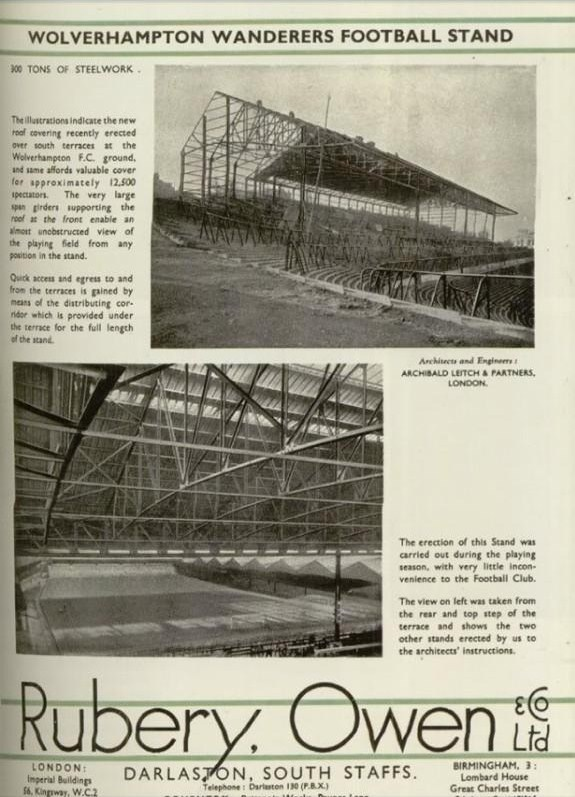 Original South Bank being built